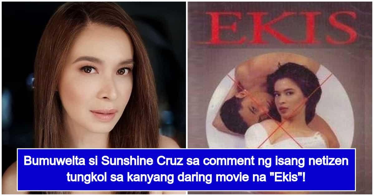 Sunshine Cruz Lectures Netizen Who Brought Up Her Daring Movie Ekis