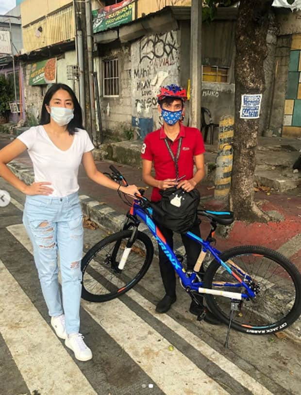 Shippers alert! Mayor Vico Sotto reacts to Gretchen Ho , after she gave bicycles to no work-no pay employees