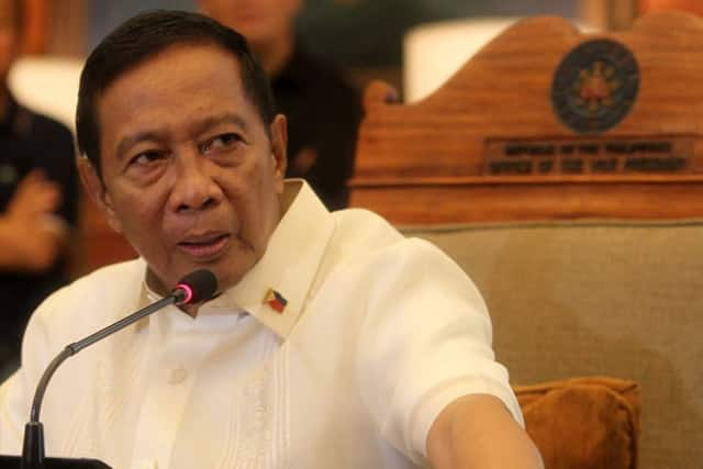 Jejomar Binay talks about alleged cheating during 2016 polls