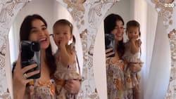 Anne Curtis at baby Dahlia Heussaff, tila nag-duet sa isang viral video