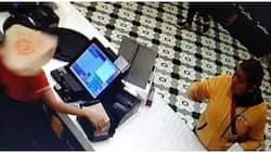 Huli-cam! Cashier sa fastfood, umalma sa pamamato ng 1 customer