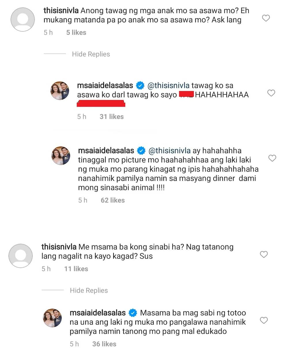 Ai-Ai delas Alas denies she's angry at netizen who said her kids look older than Gerald