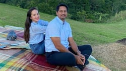 Candid sweet photos of Richard Gomez, Lucy Torres never fail to send kilig vibes