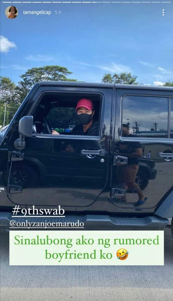 Angelica Panganiban, Zanjoe Marudo respond to rumored relationship