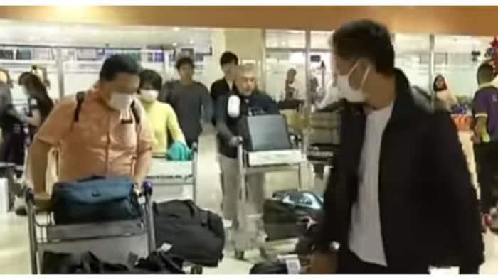 Nasa 500 na Chinese tourists na papasok sana sa bansa, pinabalik sa Wuhan