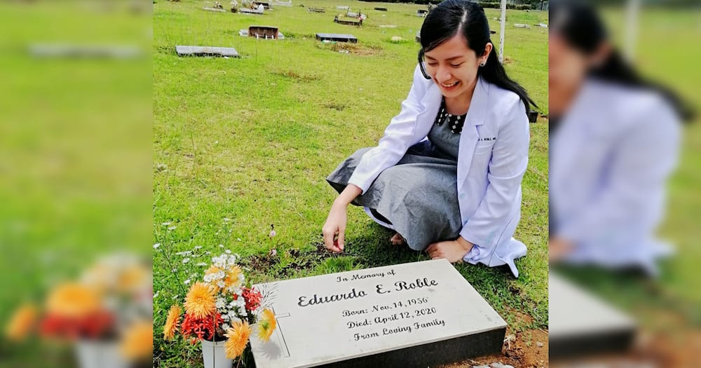 New doctor honors late father who gave her unwavering support before taking licensure exam