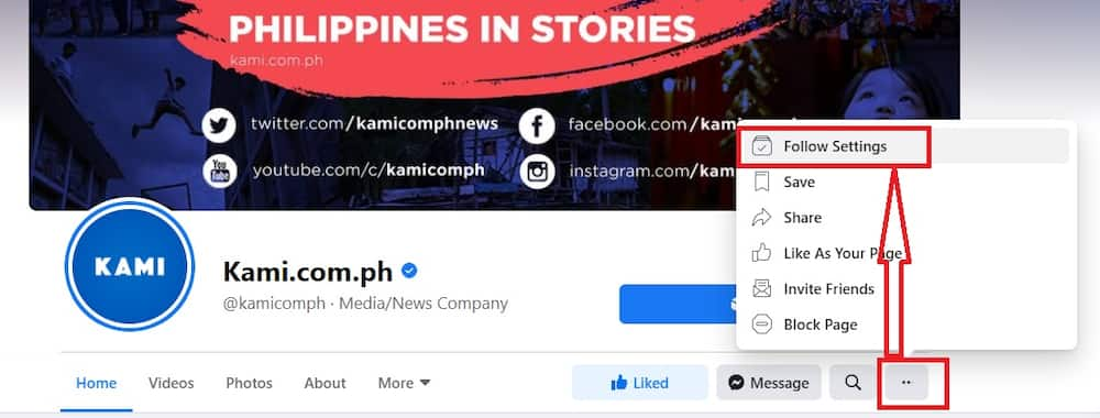 To our loyal readers, huwag mag-alala! How to keep getting the latest KAMI news on your Facebook News Feed