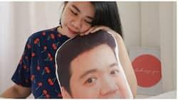 GF, nagpagawa ng face pillow ng kanyang nobyo na lagi niyang nami-miss ngayong MECQ