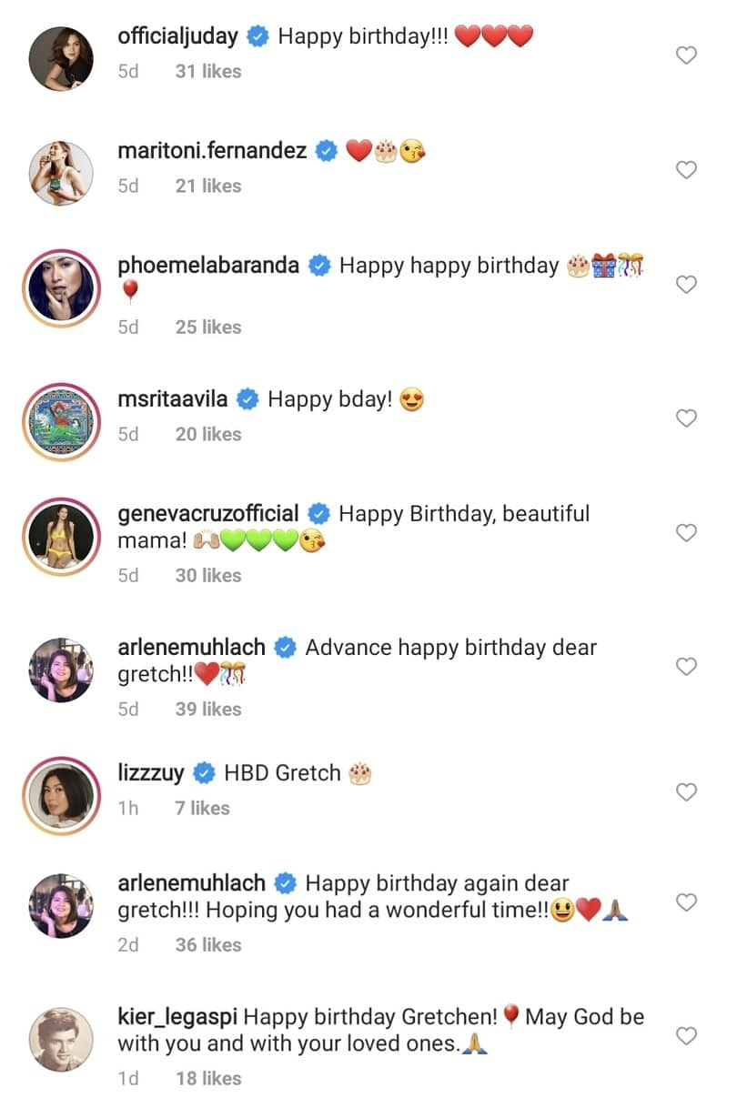 Gretchen Barretto celebrates her grand 51st birthday with family and friends