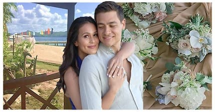 Today Is The Day! Wedding program nina Iza Calzado at Ben Wintle, pinakita