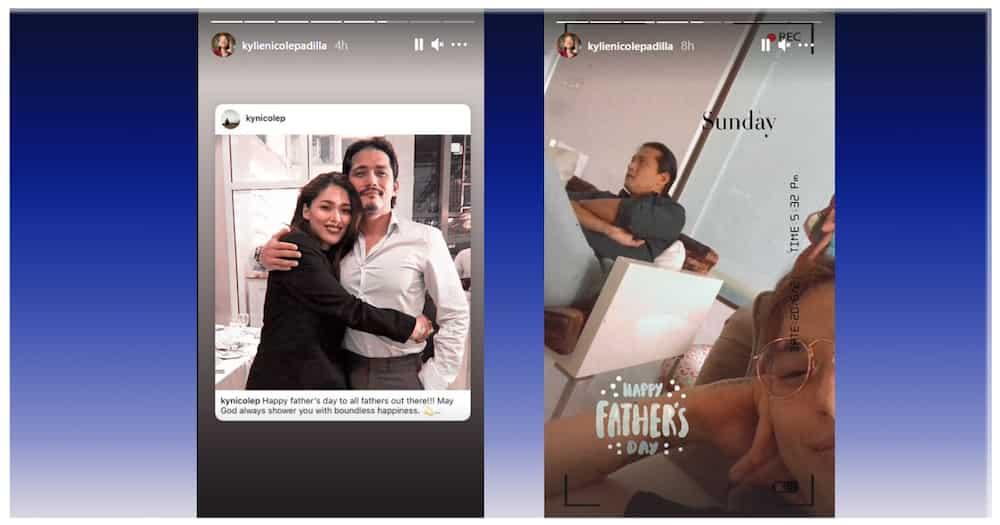 Kylie Padilla, ipinagdiwang ang Father's Day kasama ang amang si Robin Padilla