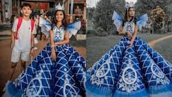 Kwento ng isang kuya na gumawa ng prom dress para sa kanyang kapatid, viral na