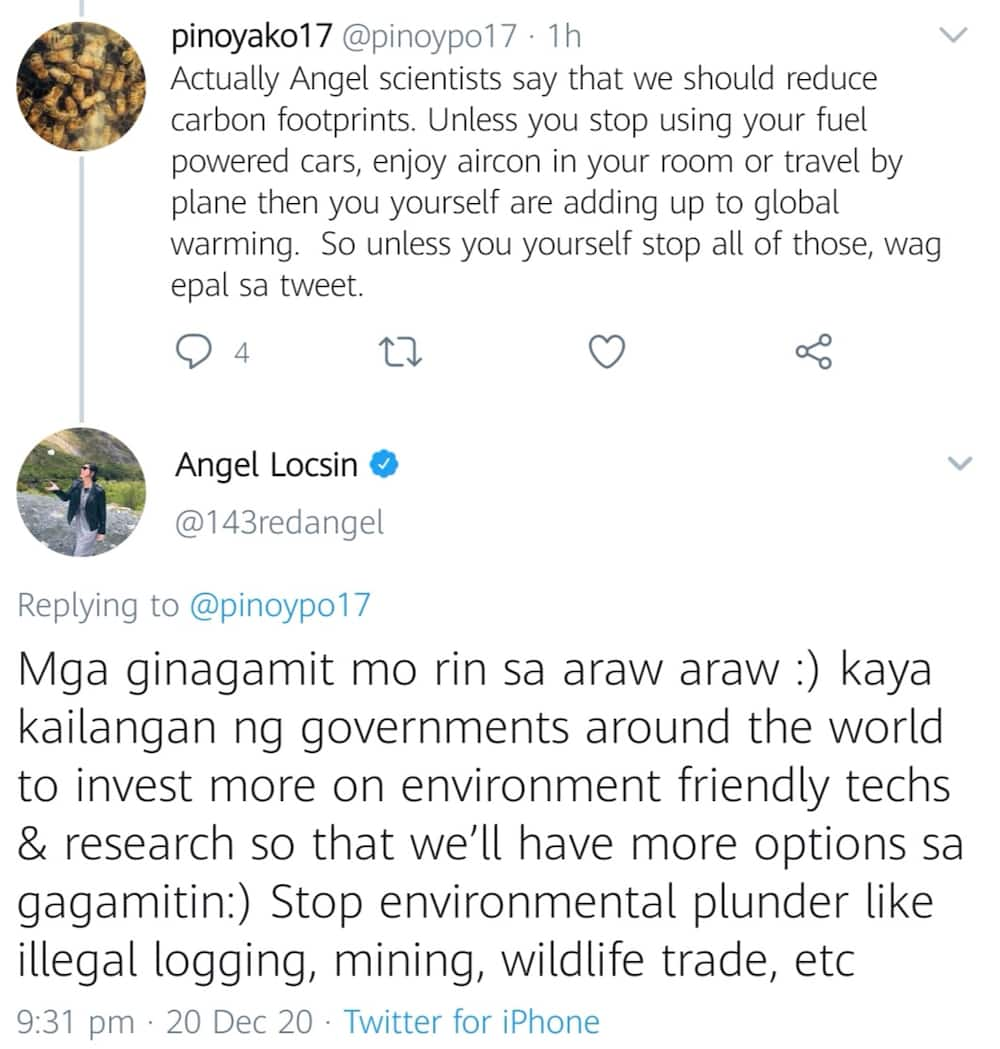 """Angel Locsin slams netizens telling her flooding is """"normal"""" in PH, """"'wag epal sa tweet"""""""