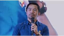 """Manny Pacquiao, kinumpira ang pamamahagi ng tulong; nilinaw na bahagi ito ng """"charity work"""""""