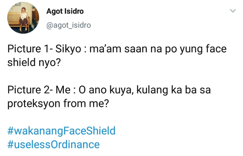 Agot Isidro stresses uselessnes of face shields and masks
