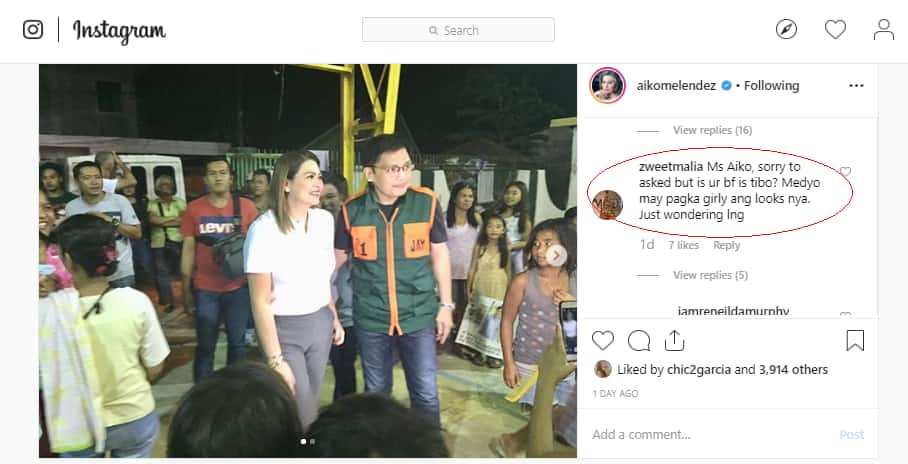Aiko Melendez slams basher who asked about boyfriends gender