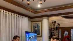 President Rodrigo Duterte celebrates Christmas with family in Davao