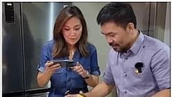 Karen Davila, binisita si Sen. Manny Pacquiao sa kanilang mansyon