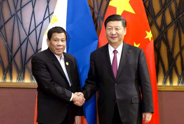 President Duterte urges to get China's 'mercy' by remaining 'meek and humble'