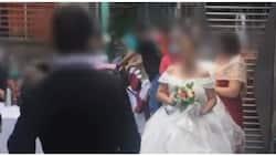 Newlyweds, kinasuhan matapos ituloy ang wedding reception kahit di pinayagan ng barangay