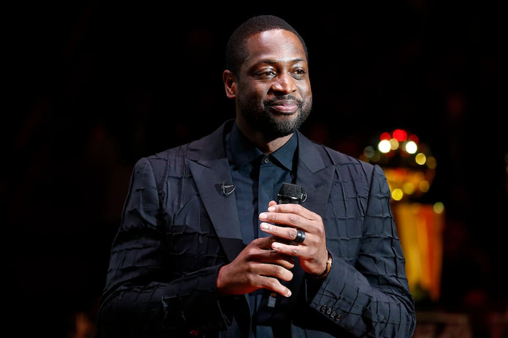 NBA legend Dwyane Wade goes viral after he accidentally photobombed a wedding proposal