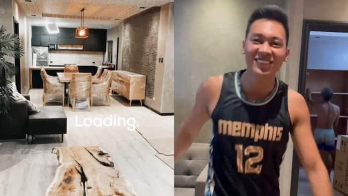 Scottie Thompson, Jinky Serrano, ipinasilip ang kanilang bagong bahay sa viral video