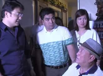 Bong Revilla Jr's emotional reunion with his sick father Ramon Revilla