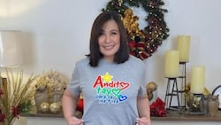Sharon Cuneta shows off her stunning look for ABS-CBN Christmas station ID 2021