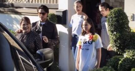 Daniel Padilla and siblings' birthday surprise for their mommy Karla Estrada