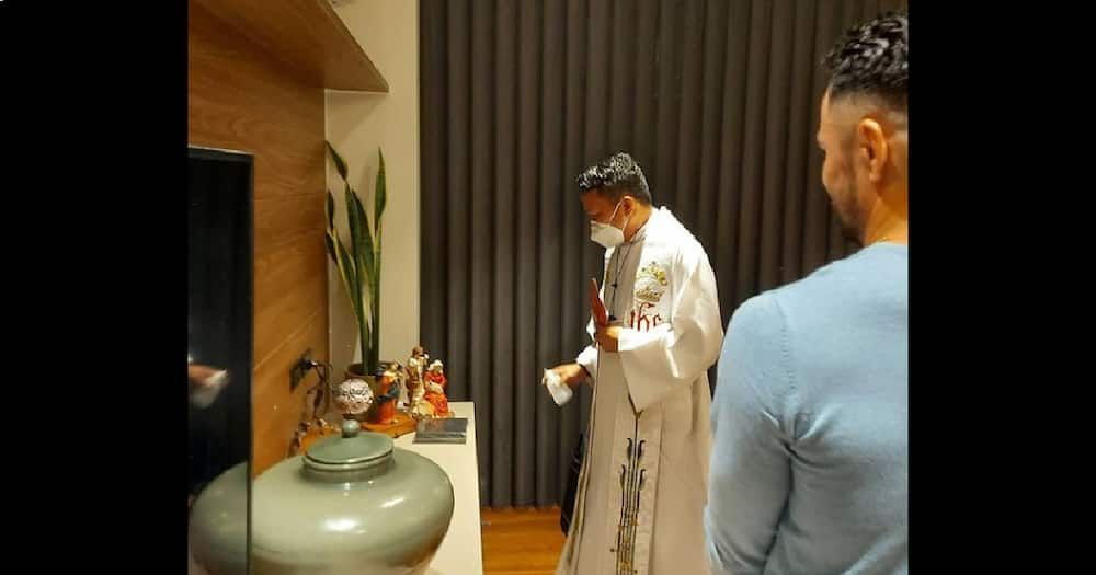 Derek Ramsay shares glimpse of his new home's blessing during his birthday