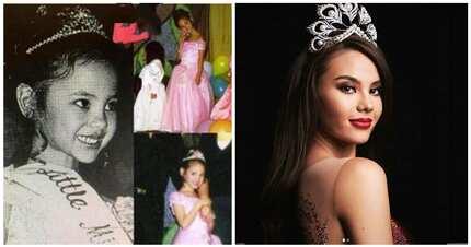 """Ang cute! Catriona Gray sumali pala sa """"Little Miss Philippines"""" ng Eat Bulaga noong 1999"""