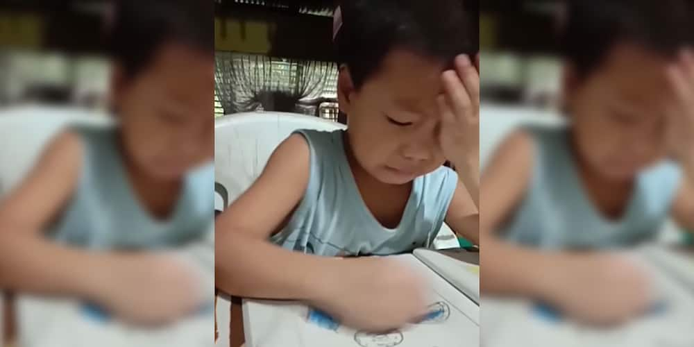 Preschooler gets mad at mom for making him color pizza blue in now-viral video