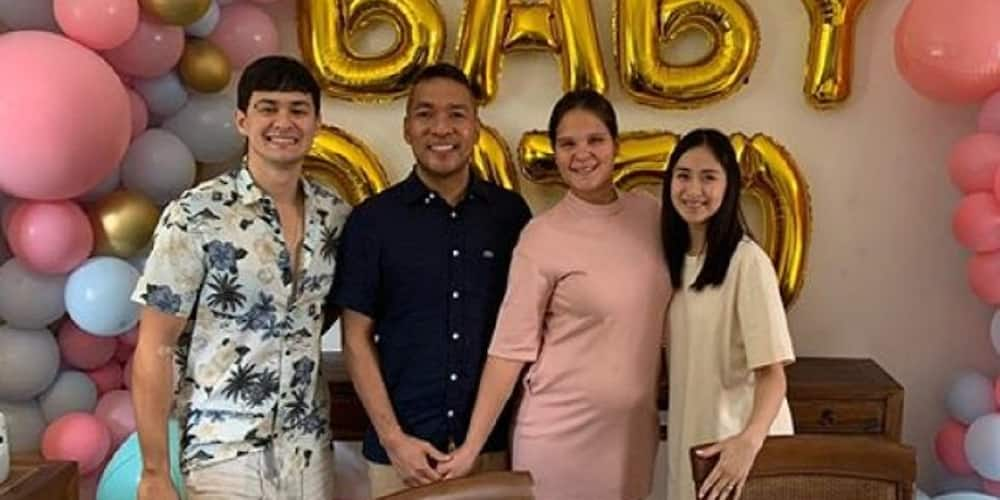 Sarah Geronimo attends pregnant sister-in-law's gender reveal party