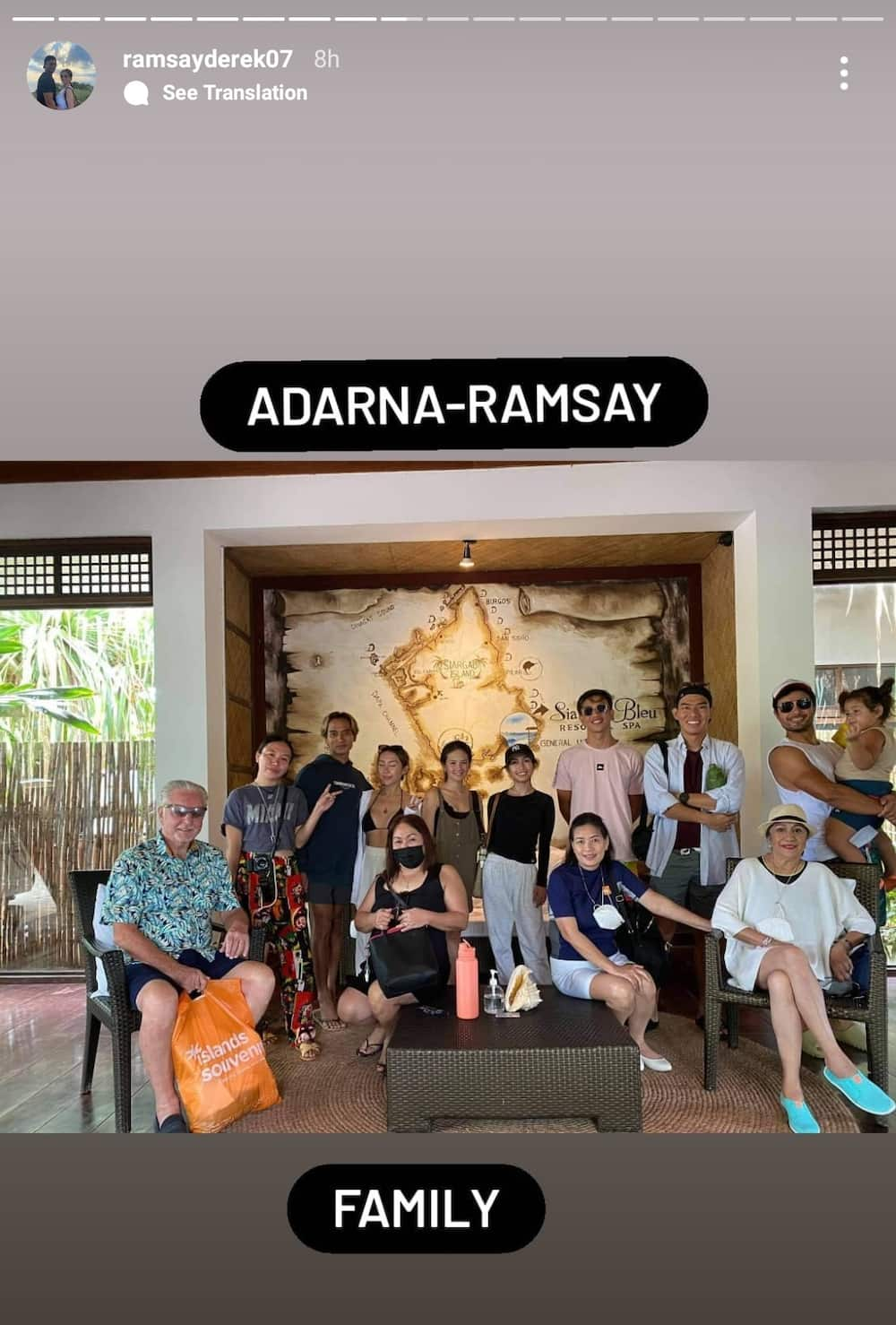 Pics of Derek Ramsay & Ellen Adarna's families during pamamanhikan go viral