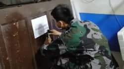 Lalaki, naaktuhang kinuha ang pinto ng isang shop para mapakain ang asawang buntis