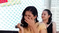 Loisa Andalio sheds tears during recent interview
