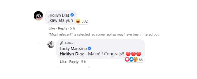 "Luis Manzano bilang ""gold medalist sa pagwapuhan"", aprubado ni Hidilyn Diaz"