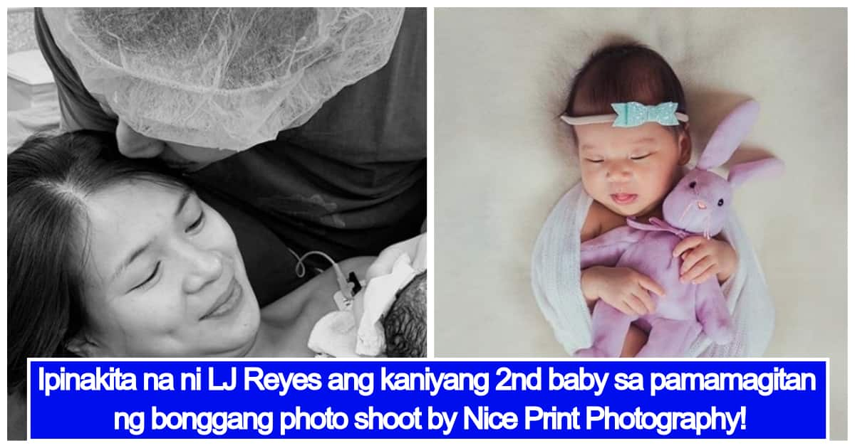 LJ Reyes finally reveals her baby girl Summer Contis in adorable