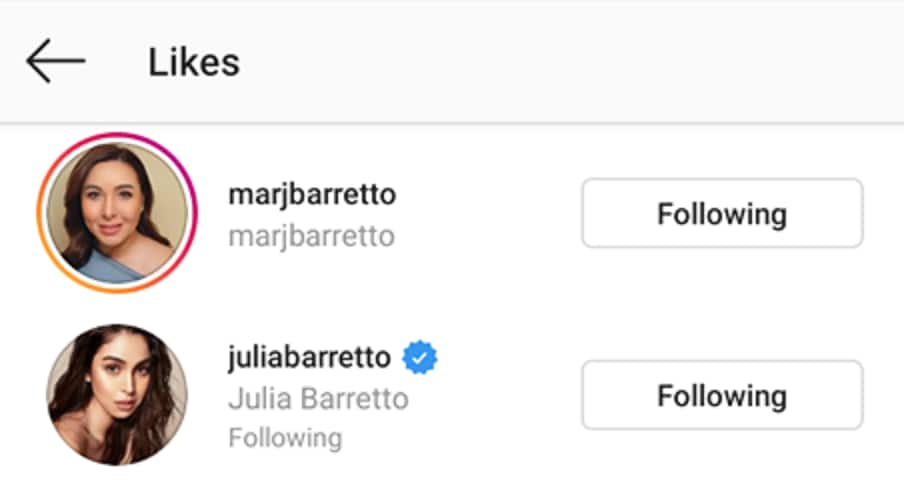 Marjorie, Julia Barretto reacts to Gerald Anderson's latest post on social media
