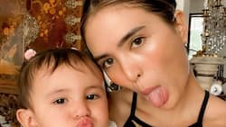 Sofia Andres puzzles over how her daughter managed to upload a TikTok video