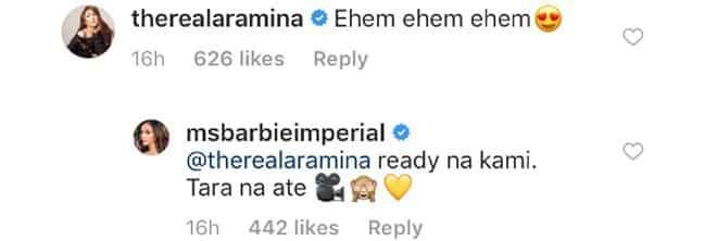 Bati na? Barbie Imperial posts a sweet photo of her with JM De Guzman