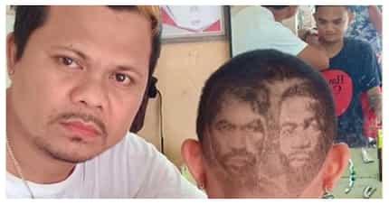 """Barbero, pinahanga ang mga netizens sa naiiba niyang """"hair art"""""""
