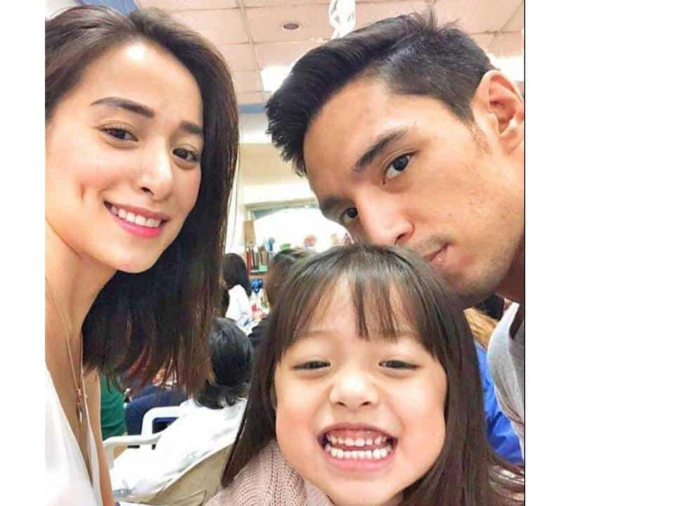Amid separation rumors, Cristine Reyes & husband Ali Khatibi attend daughter's party