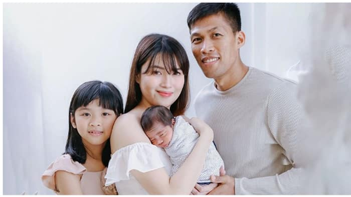 Mark Barroca's wife Russelle shares their beautiful family portrait