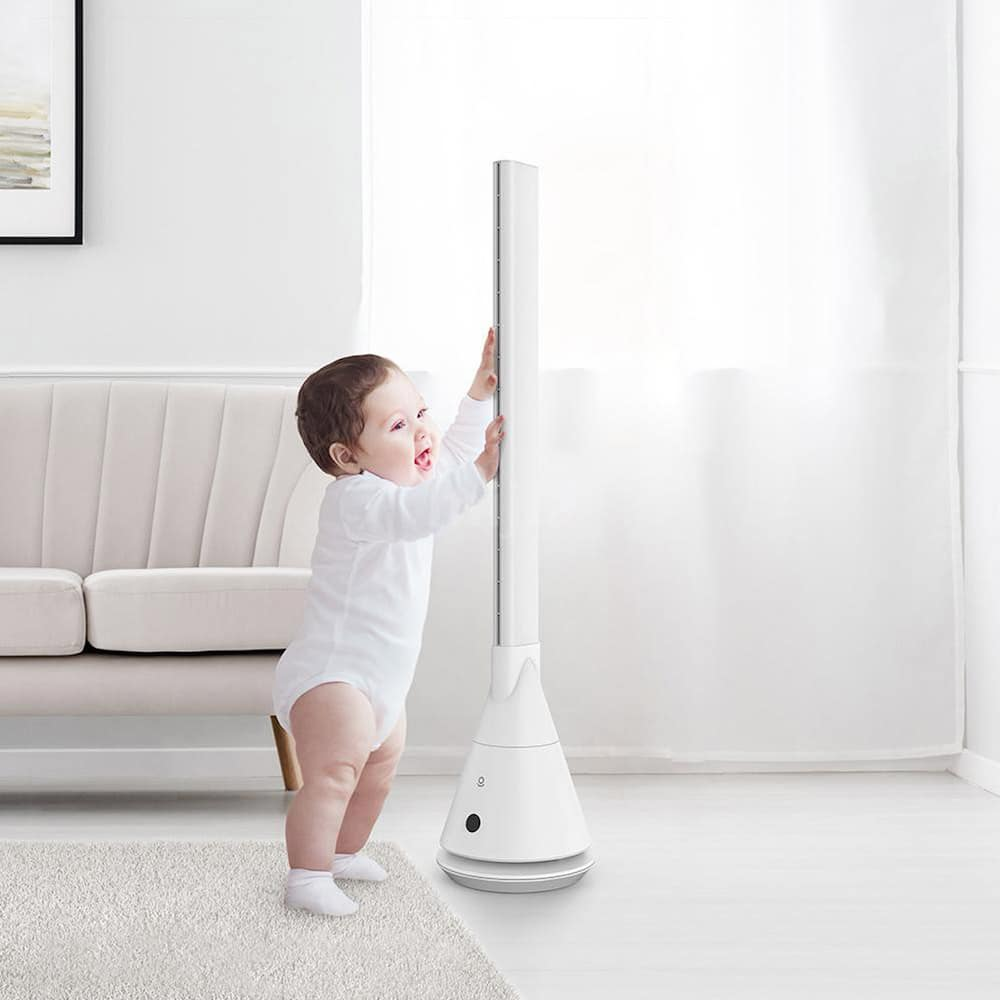 Stylish and high-quality bladeless fans perfect at home and safe for kids