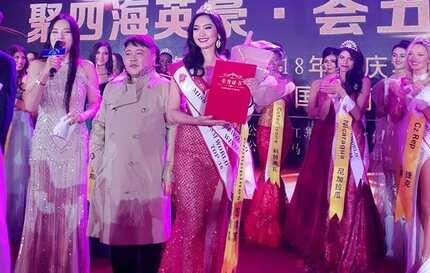 Filipina Francesca Taruc wins Miss Tourism World 2019 Intercontinental