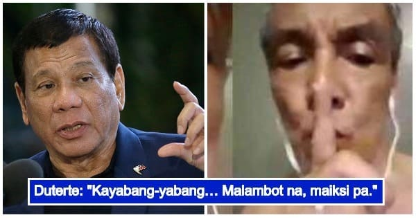 President Duterte Slams The Video Scandal Of His Critic