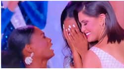 Miss Nigeria trends globally, with her epic reaction for Miss Jamaica's victory