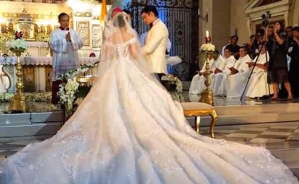 Tunay na mga kabogera! Most expensive wedding gowns worn by 'yayamanin' celebs in PH history