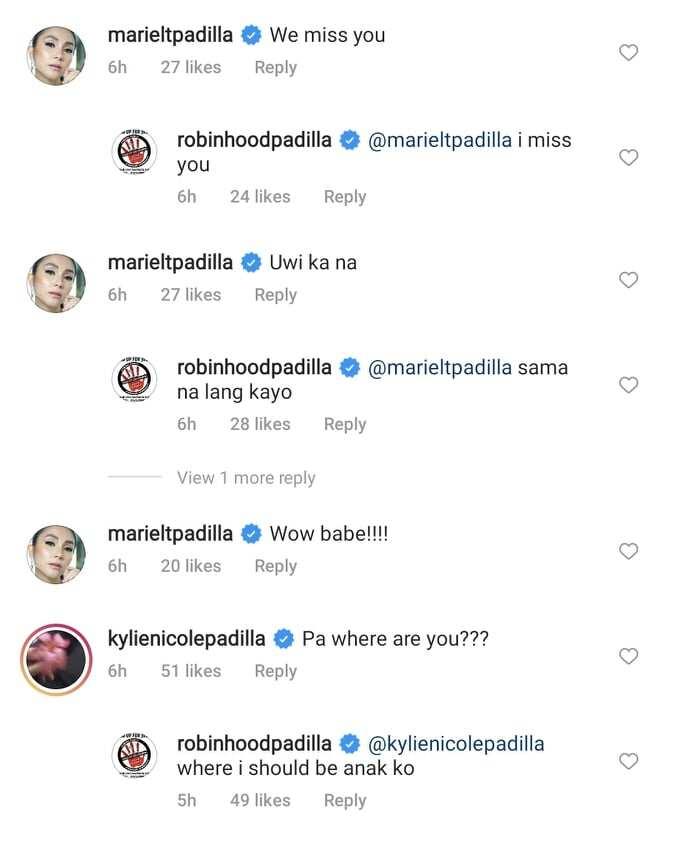 Robin Padilla, sinabihan ni Mariel Padilla na umuwi na matapos mag-post ng video